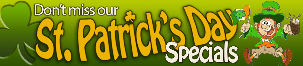 St. Patrick's Day Banner image
